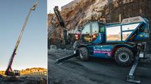 Vi gratulerer Høyde Teknikk AS med ny Magni RTH 5.30 påmontert Borerigg CD4200 Heavy