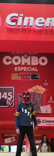 Presentación Galería Cosplay - CINEMEX Galerías Plaza de las Estrellas
