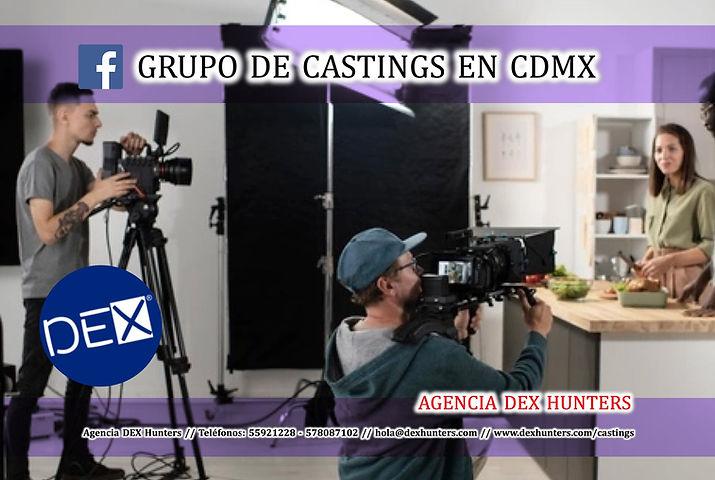 Agencia DEX - Grupo de Castings