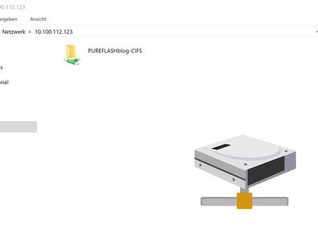 UPDATED FlashBlade: ein Scale-Out NAS Storage mit SMB Funktionalität - eine Konfigurationsanleitung