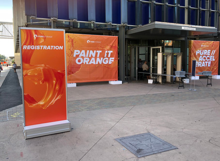 REGISTRATION OPEN!: Pure Storage Accelerate 2019 - the first impressions. Pre-day(s) sum-up.