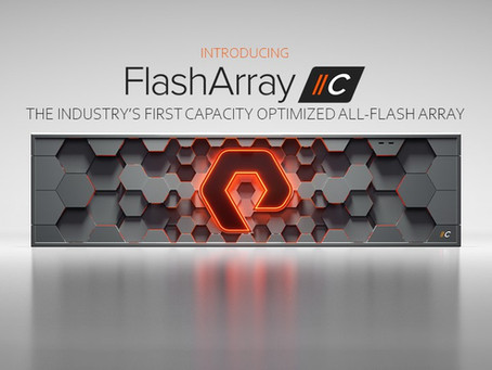 FlashArray: this is the brand new FlashArray family member – FlashArray //C - a deep dive