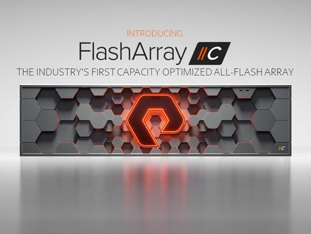 FlashArray: this is the brand new FlashArray family member – FlashArray //C - a deep dive