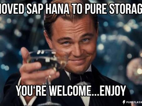 Why Pure Storage for SAP HANA?