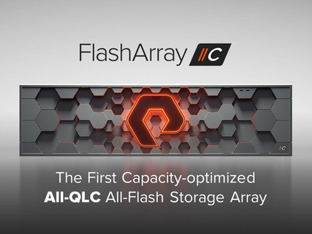 FlashArray: //C All-QLC-NVMe-Array with even more flexibility ... also with a little brother.