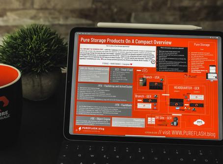 Pure Storage: ein Vertriebs-Überblick -der exklusive OnePager/Poster zum Download