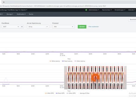 Pure Storage advanced Monitoring mit Splunk: Indexing ist Macht - Teil 2 - FlashBlade mit Splunk
