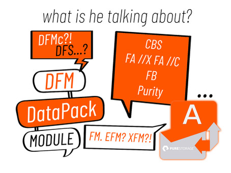 Speaking the Pure Storage terminology. The Pure Translator-'Dictionary'.