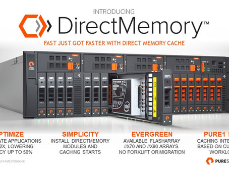 FlashArray: What's new for //X ? DirectMemory Cache with Intel Optane - Reduce Your SAP HANA costs