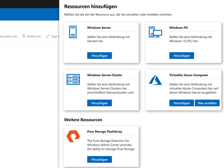 How to: Pure Storage integrates into Windows Admin Center - a plugin that Windows admins will love!