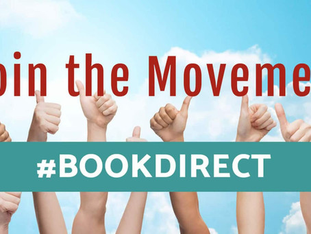 #Book Direct - Join the movement!