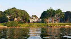 Saltair Inn from the water