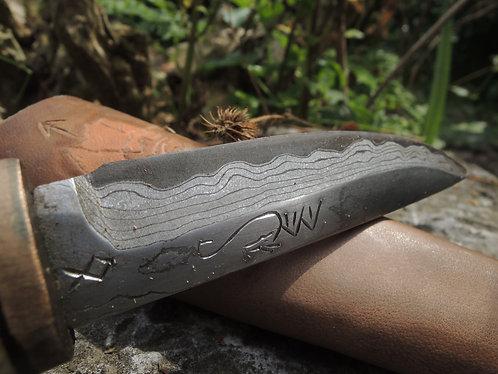 Yakut Damascus Knife