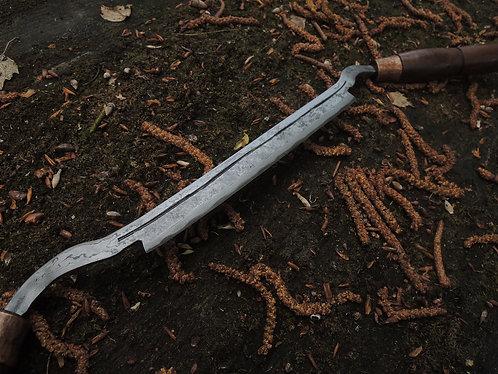 Drawknife Damascus Steel