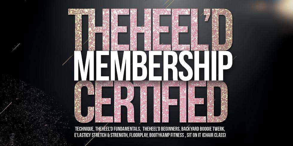 TheHeel'D Certified Membership