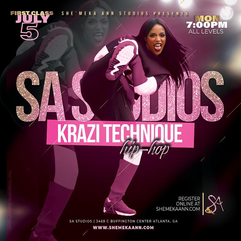 Krazi Technique : Hip Hop w/ Aryes Cox