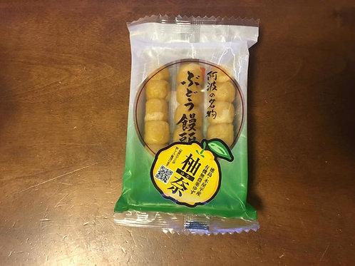 ぶどう饅頭 柚奈 3本入り