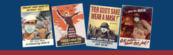 Limited Edition WWII-themed COVID Posters