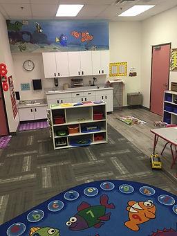 Triple R Child Care preschool classroom