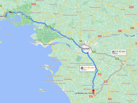 Direction La-Roche-Sur-Yon !