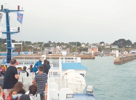Tournage - Festival Les Insulaires - Îles de Groix - 22 Aout