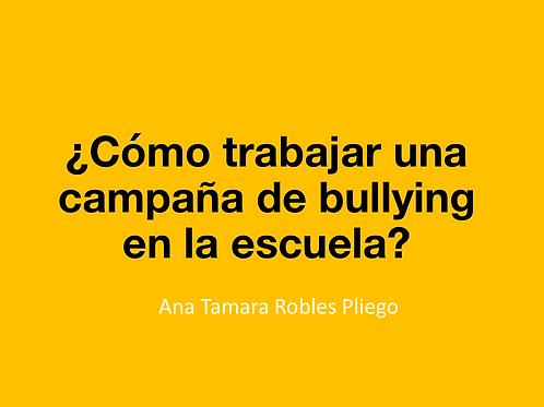 Curso: Bullying en el aula. / Entra tu código de descuento en la siguiente pag.