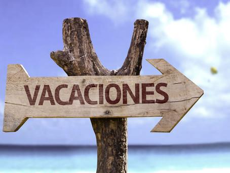 ¿Qué hábitos puedes desarrollar en vacaciones?