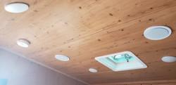 LED lights, roof vent