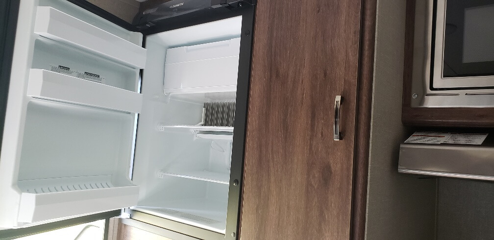fridge and closet