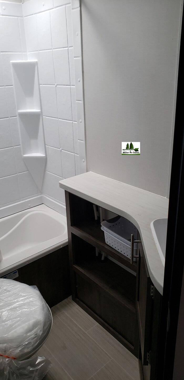 tub and vanity