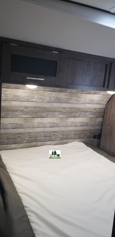 Queen front bed