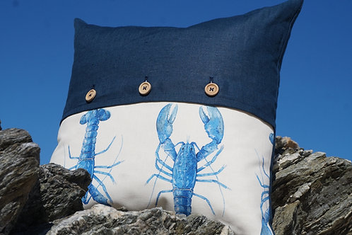Padstow Lobster Cushion