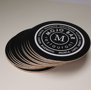 Подставка из пробки и картона Mojo Bar 2
