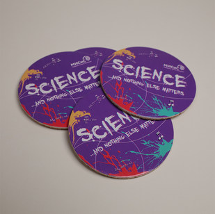 Подставка из пробки и картона Science 2