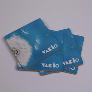 Подставка из пробки и картона Vakio 4