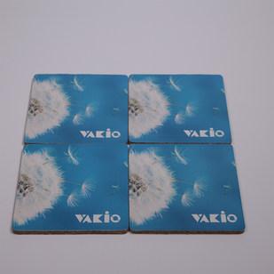 Подставка из пробки и картона Vakio 2