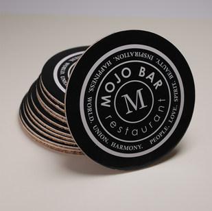 Подставка из пробки и картона Mojo Bar