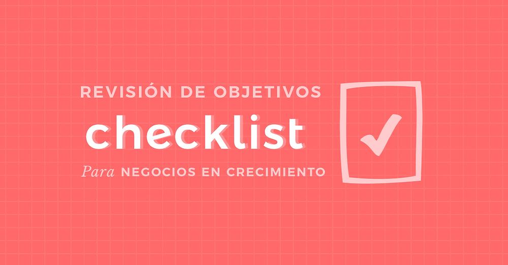 Checklist Objetivos