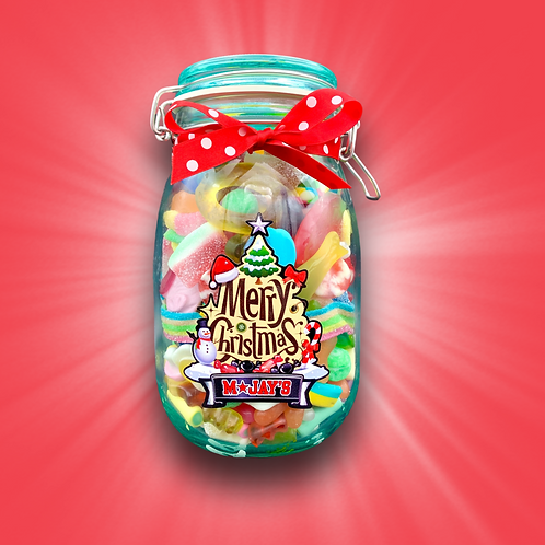 Pick & Mix Glass Jar 1.25kg - 1.4kg