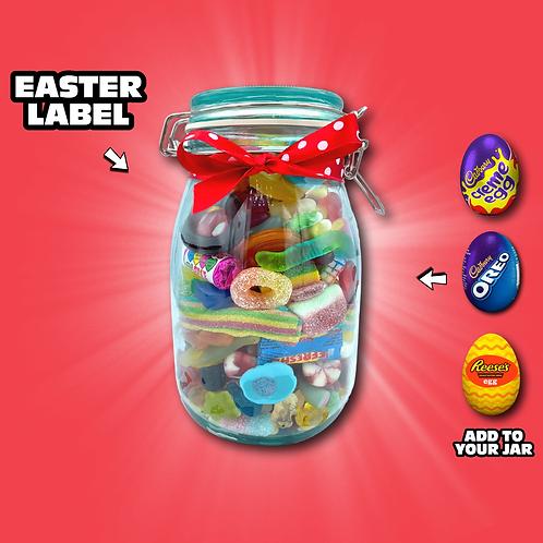 Easter Medium Glass Jar