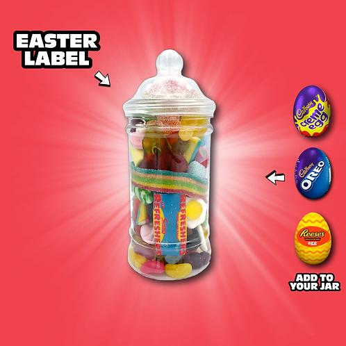 Easter Victorian Sweet Jar