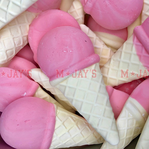 Foam Ice Cream Cones