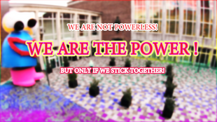 WE ARE THE POWER  ( www.theisolationarti