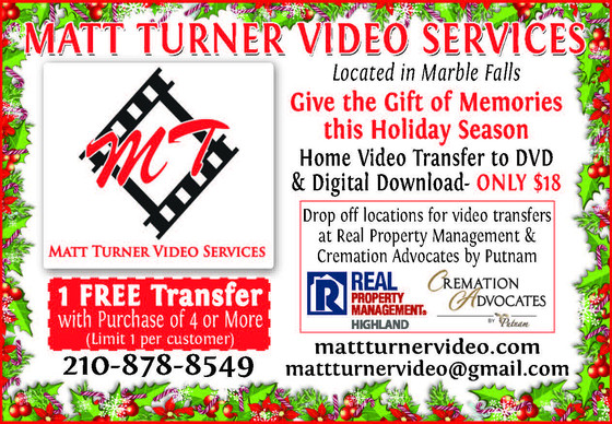 Special Holiday Home Video to DVD Transfer Offer!