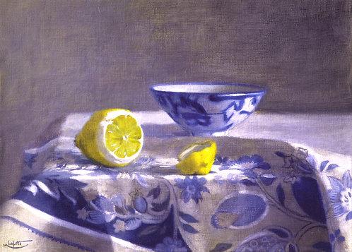 Citron et porcelaine
