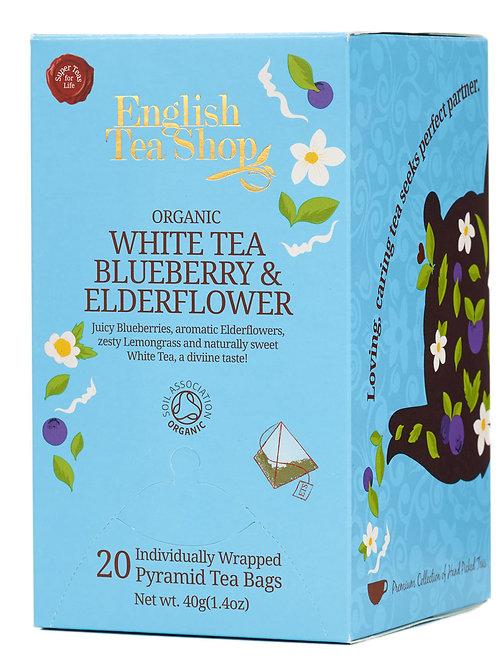 Herbata Biała z Dzikim Bzem i Borówką- English Tea Shop