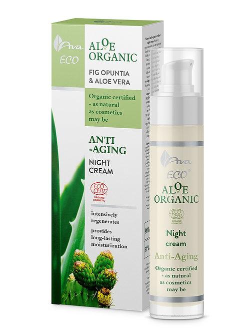 Aloe Organic Krem na Noc 50ml