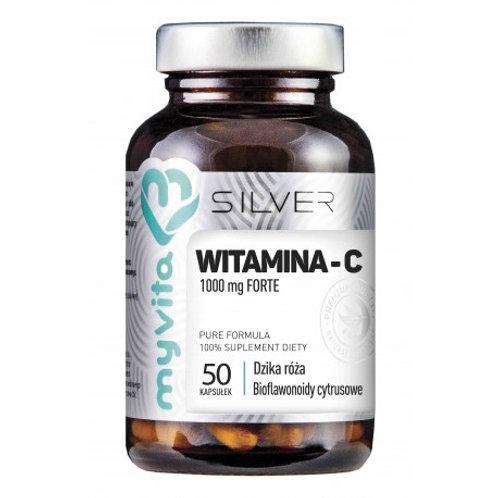 Witamina C 1000mg 50kaps Silver Pure