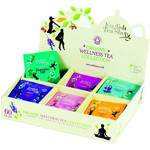 Kolekcja herbat Organic Wellness Sampler Tray – 60 saszetek