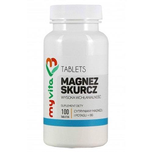 Magnez Skurcz 100tabl
